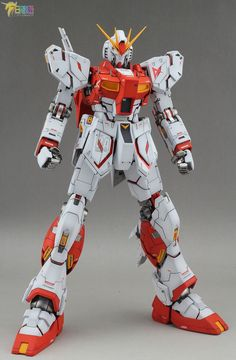 MG 1/100 Nu Gundam Ver. Ka - Customized Builds Modeled by Jon-K