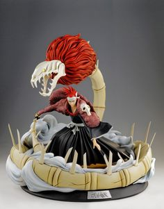 [TSUME] Bleach: Estátua HQS do personagem Renji Abarai
