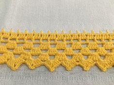 Ideas Baby Crochet Hats Simple For 2 - Diy Crafts Crochet Border Patterns, Crochet Blanket Edging, Crochet Lace Edging, Lace Patterns, Crochet Squares, Crochet Trim, Love Crochet, Filet Crochet, Crochet Designs