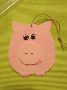 sticky pig dreckiges schweinchen laubs gearbeit bemalt. Black Bedroom Furniture Sets. Home Design Ideas