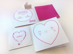 We realized concept and graphics for a special wedding invitation.