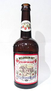 Melbourne Bros. Strawberry Ale -my most favorite beer of all time!!!