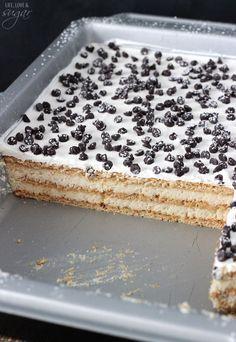 This Cannoli Icebox Cake Is So Smart, It's Kind of Insane  - Delish.com