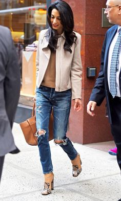 Amal Clooney Styles Up Our Dream Boots