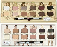 When they say Naked palette, they mean it! These sexy nudes will get you the nudes you want... On your lid! Create a smokey and earthy look with this cute pallete! Pinterest: lolaisgoals