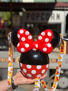 The New Minnie Balloon Popcorn Bucket Has Landed In Disneyland! The New Minnie Balloon Popcorn Bucket Has Landed In Disneyland!