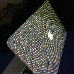 MacBook case laptop case air 11 ab crystals handmade Swarovski elements rhinestone crystals Jewel luxury gift ideas love season Jesus for her unique gift trends