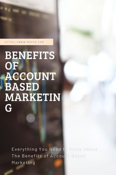 Several individuals don't understand why account based marketing is so valuable. In reality, it's an outstanding tactic for finding the perfect customers at the right time. Marketing Channel, Direct Marketing, Sales And Marketing, Customer Behaviour, People Dont Understand, Display Ads, Research Studies, Marketing Professional, Need To Know