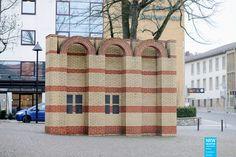 Per Kirkeby - Jüdisches Mahnmal - 1993 - Paderborn  Public Art in North Rhine-Westphalia – www.nrw-skulptur.de/objekt198