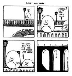 Pena The Unholy - Comics - Cute Penguins - Dark Art Illustrations - Horror - Dark Humor Dark Art Illustrations, Illustration Art, Dere, Cute Penguins, Comic Art, Horror, Drama, Diagram, Comics