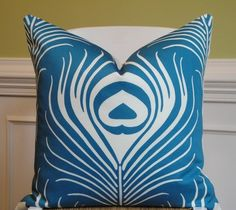Decorative Pillow Cover 20 x 20 INCH  by TurquoiseTumbleweed