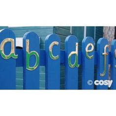 A brilliant outside alphabet of brass letters. Create an alphabet on a wall or fence or use as an alternative set of letters in your writing area. A weighty set that feels great to handle. Set of 26 brass letters. Sizes range from C. 6cm - 13cm.  .             .