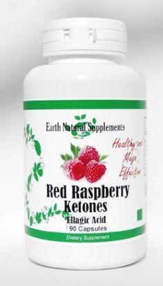 Red Raspberry Ketones* / Ketones - Earth Natural - 180 Capsules - Antioxidant and Fat Burner (2 Bottles) *** Click image for more details.