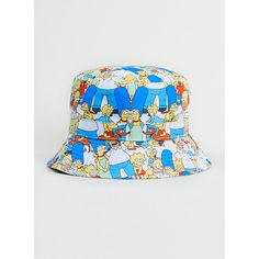 Hype X Simpsons Family Bucket Hat ( 19) ❤ liked on Polyvore featuring mens c5f49fa6dfc5