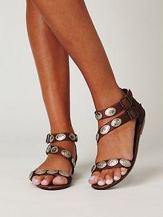 concho sandal, free people