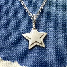 Star Necklace Birthday Present Simple Necklace Minimal Gold  - And 1 day I will own that pretty star