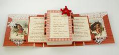 Heritage Christmas Sliding Recipe Box