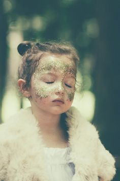 "une étoile est née.  Ever since I watched ""Ever After"" I have wanted a glitter mask ; ) #achievabledream"