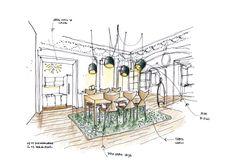 Disegnoinopera - Casa Robermont - sala da pranzo  - www.disegnoinopera.it
