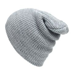 ecb3a876a2d Winter Beanies Solid Color Hat Unisex Plain Warm Soft Beanie Skull Knit Cap  Hats Knitted Touca Gorro Caps For Men Women