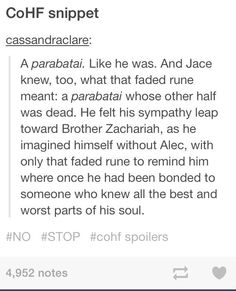 If only Jace knew that brother Zachariah's parabatai was Will