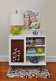 adorable set up for a kid's room