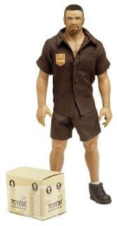 """The """"Billy doll""""....""""the first out and proud gay doll"""" And he works for UPS."""