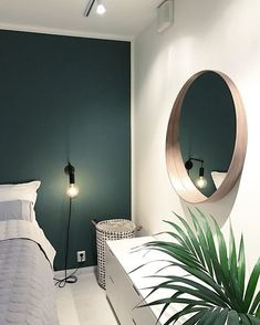 You deserve a wonderful sleep after going through the hurly-burly of the workplace and rush hour in the downtown. To get a greater rest, you'll need a super comfortable bedroom. Gold Bedroom, Bedroom Green, Green Rooms, Modern Bedroom, Bedroom Decor, Contemporary Bedroom, Bedroom Ideas, Master Bedroom, Bedroom Boys