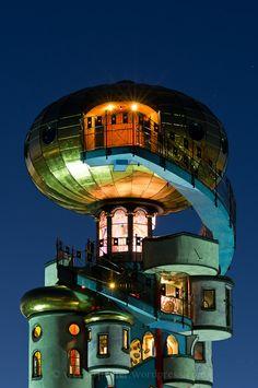 Hunderwasser Tower, Bavaria, Germany