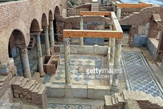 Stock Photo : Ephesus Terrace Houses