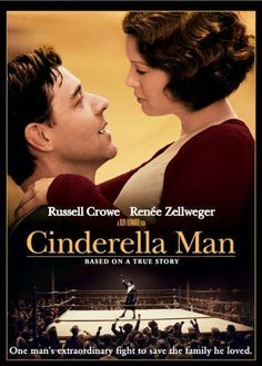 Cinderella Man (2005) Poster  from IMDB.  Watched 1/13/14 with Bart, Allen, Mollie, and Irene.  Surprisingly good!