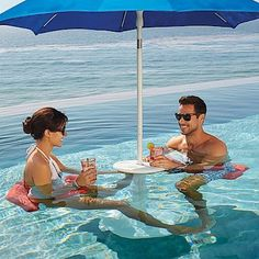 Awesome underwater chair that converts to pool table. Only $100 without umbrella. I see a couple of these in my shallow end!