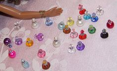 Miniature perfume bottles by *Saffy*, via Flickr