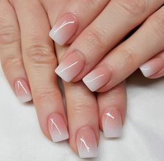 summer french nails The Beach Fancy Nails, Cute Nails, Pretty Nails, My Nails, Polish Nails, Square Acrylic Nails, Best Acrylic Nails, Fabulous Nails, Perfect Nails