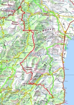 GR20 Randonnée de Vizzavona à Conca (Corse du Sud) Trekking, Hiking, Camping, Map, Walks, Campsite, Location Map, Outdoor Camping, Hill Walking