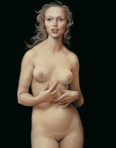 John Currin 'Honeymoon nude' 1998