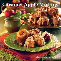 The Domestic Curator: Caramel Apple Muffins & All That Jazz!