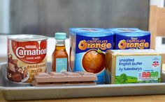 Terry's Chocolate Orange Slow Cooker Fudge Recipe - A Homemade & Edible Christmas Gift - Ingredients needed