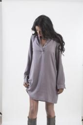 שמלת גלבייה חלקה – סטטוס - Lima השמלה המקסימה הזו ועוד שמלות נוספות ומהממות לא פחות מחכות לך באתר #לימהסטייל #limastyle #limastyleisrael