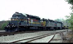 RailPictures.Net Photo: LN 3588 Louisville & Nashville EMD SD40-2 at Cartersville, Georgia by Bernie Feltman