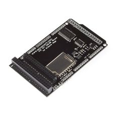 SainSmart TFT/SD Shield for Arduino (7 for Mega2560). True 5V to 3.3V level translation using TI SN74ALVC164245 for LCD data lines, TI SN74LVC4245 for LCD control line and SPI lines. Highest compatibility. One shield for many types of TFT LCD modules. Drive TFT LCD on arduino DUE by just plugging into arduino MEGA 2560 main board, no flying wires. Compatible with 40-pin version LCD, which is commonly used in TFT Mega shield. Also comptabile with 32-pin version LCD, which is commonly us...