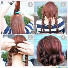 The Best Hair Turorials Step By Step
