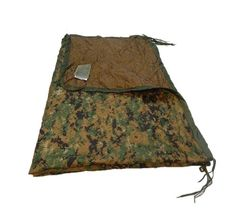"New! USMC Military Poncho Liner """"Woobie"" Blanket Woodland MARPAT/Coyote USGI"