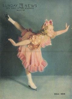 "Sonja Henie in rotogravure: March 23, 1937, ""The Sunday News: New York's Picture Magazine."" [pr]"