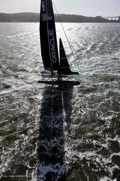 beautiful San Francisco Bay (photo: Guilain GRENIER / ORACLE Racing)