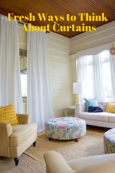 Make it Modern: Fresh Ways to Think About Curtains | Apartment Therapy