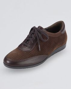 Gilmore Oxford Sneaker, Chestnut by Cole Haan at Neiman Marcus.