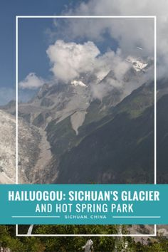 Hailuogou, Sichuan's low altitude glacier, China.