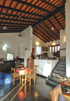 All Indian Home Decor Indian Home Design, Indian Home Interior, Kerala House Design, Kerala Traditional House, Traditional House Plans, Ethnic Home Decor, Indian Home Decor, Chettinad House, Village House Design