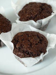 CHEZ LUCIE: Čokoládové muffiny